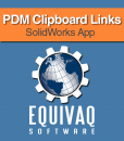 equivaq-solidworks-admin-app-PDM-Clipboard-Links